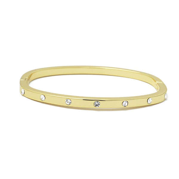 gold stainless steel bangle