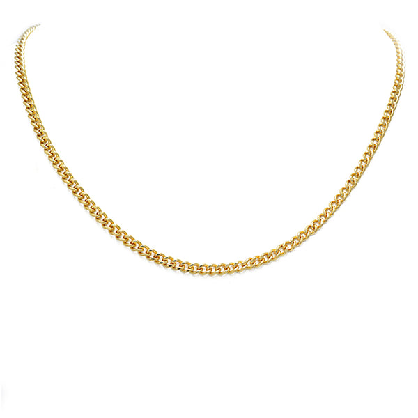 Gold Filled Cuban Link Necklace