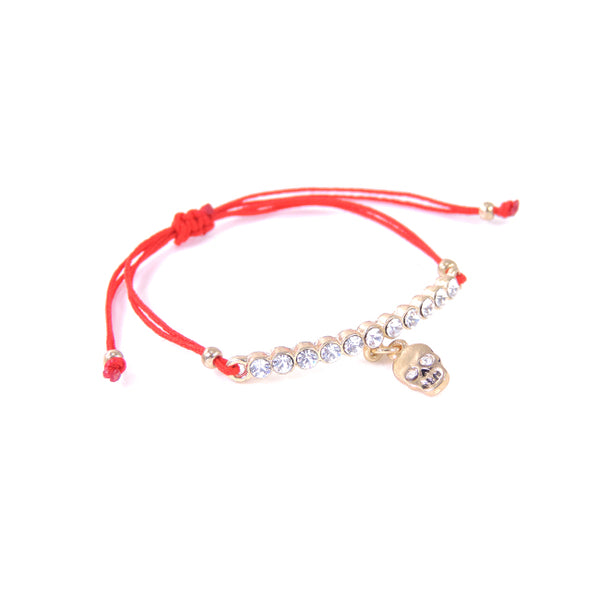 Adjustable Skull Bracelet