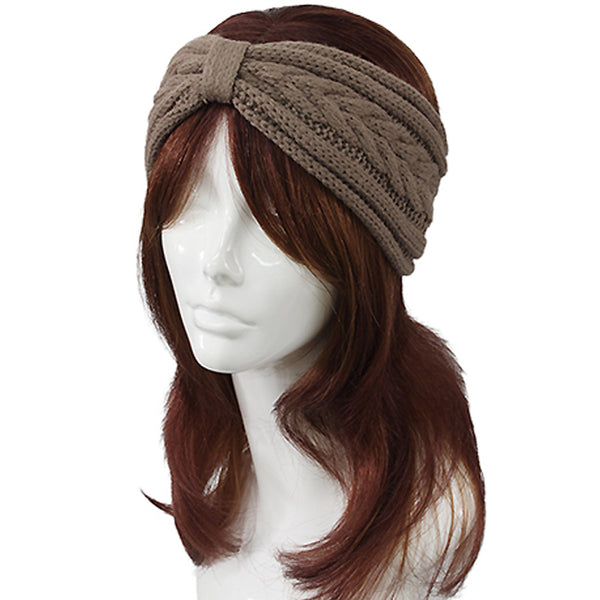 Ribbon Shape Knit Headwrap
