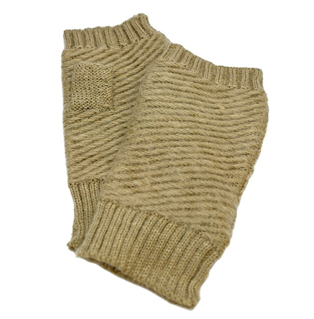 Winter Fingerless Knitted Gloves