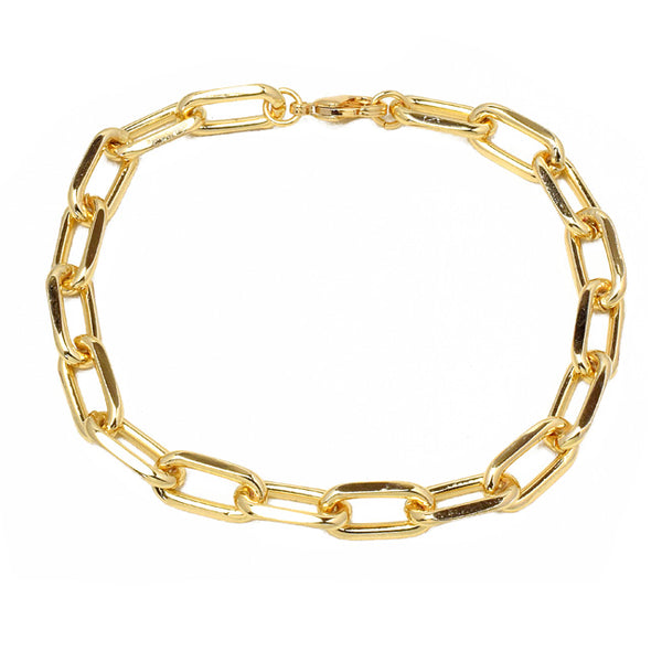 Gold Linked Chain Bracelets