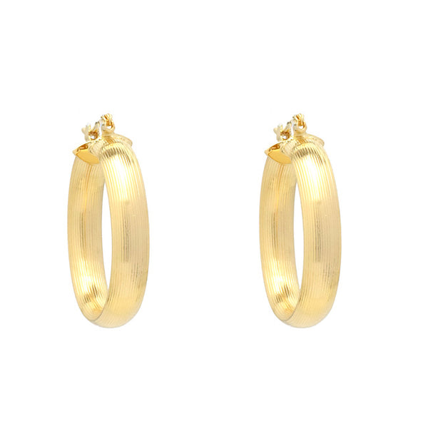 Gold Filled Hoop Earring