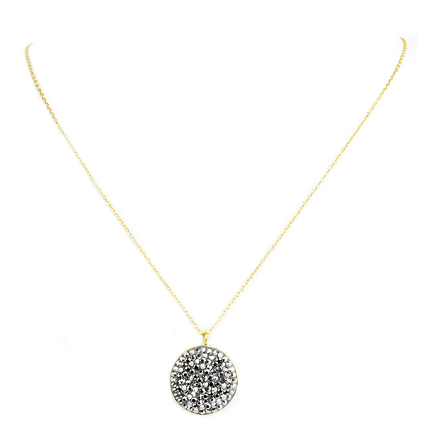 Sterling Silver Gold Plated Pendant Necklace