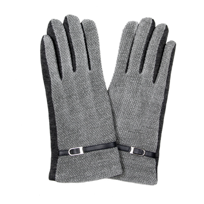 Winter Gloves with Thin Belt