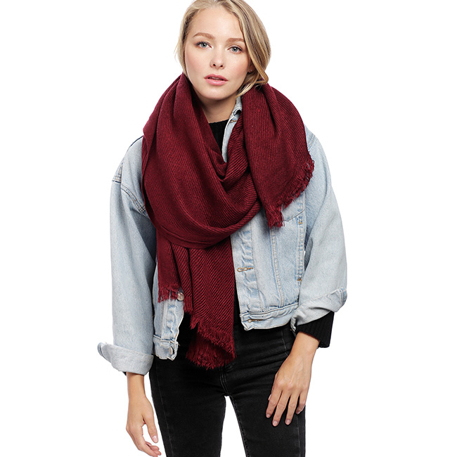 Oblique Oblong Scarf