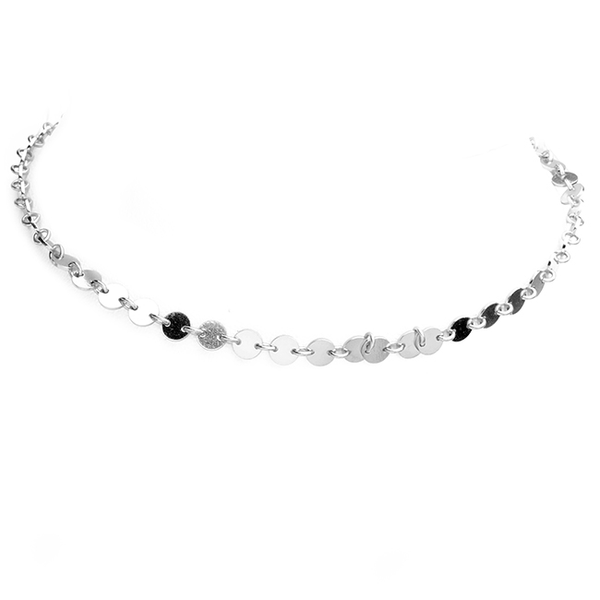 Sterling Silver Choker Necklace