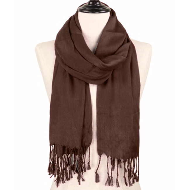Solid Color Pashmina