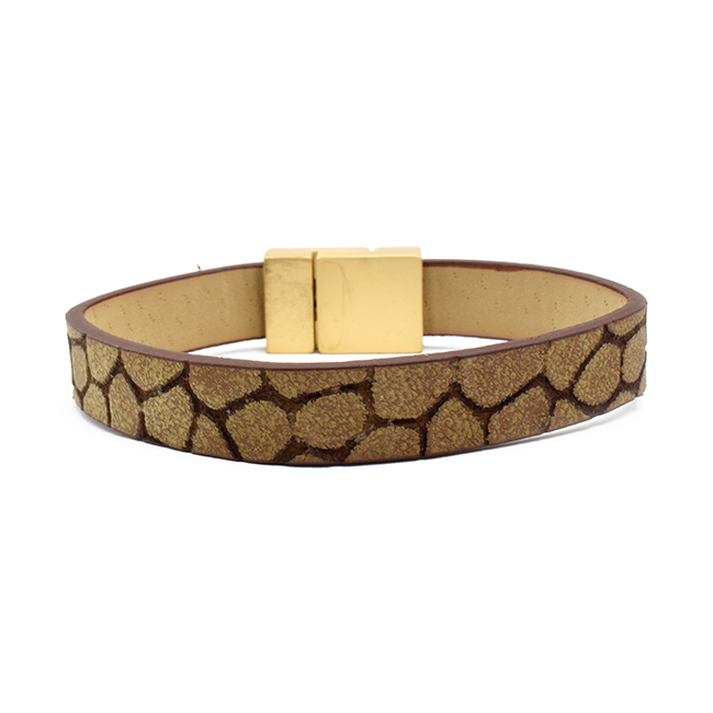Leather Magnetic Bracelet