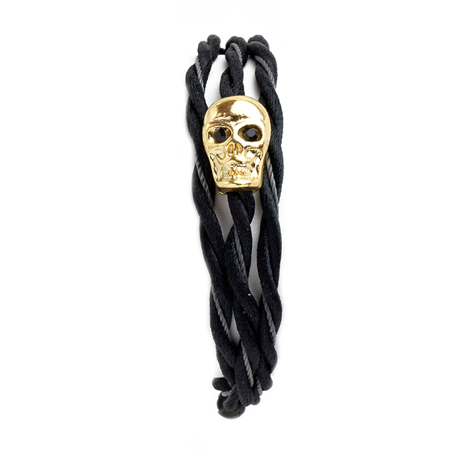 Adjustable Skull Wrap Bracelet