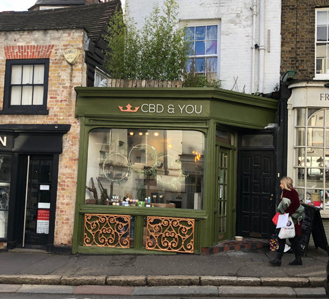 CBD and You, Hampstead, London.