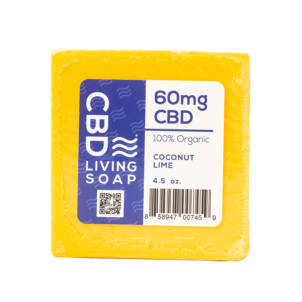 CBD Living Soap 60mg
