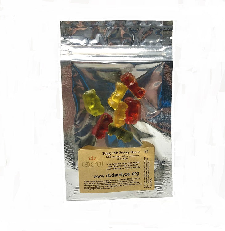 CBD Gummy Bears 10mg