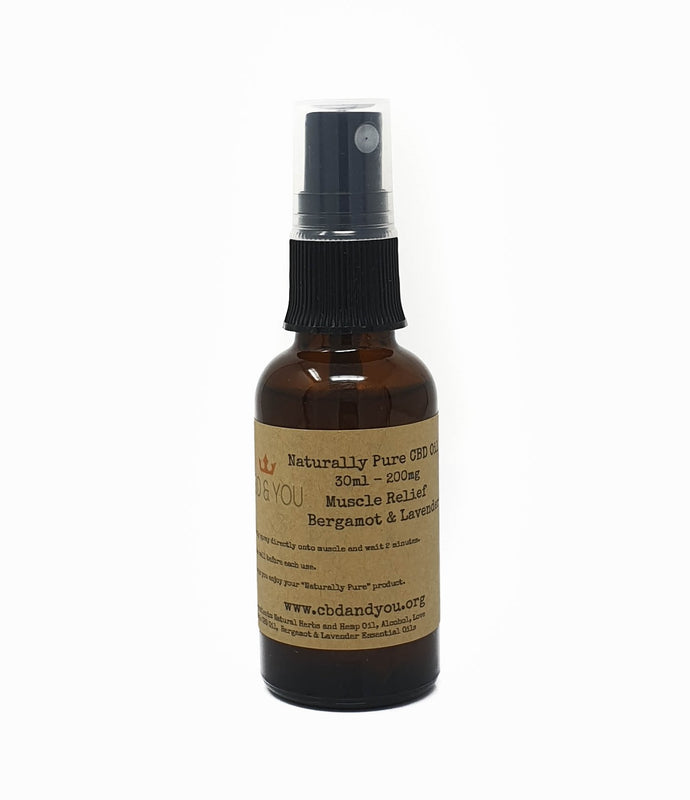 CBD Muscle Relief Spray