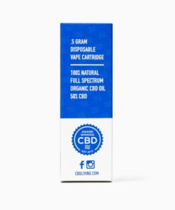 CBD Living Disposable Vape - 250mg