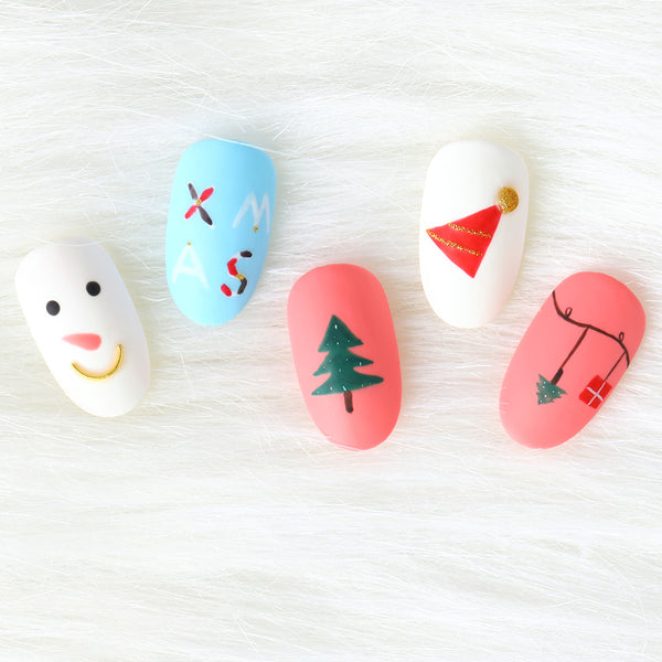 What kind of nail design should we DIY for winter ?