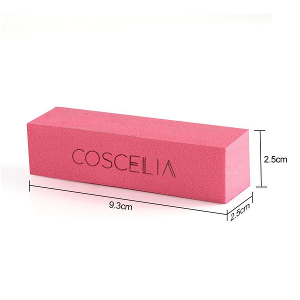 COSCELIA Nail Tool Kit 30Pcs Nail Files 10Pcs Nail Buffer Professional Manicure Art Set