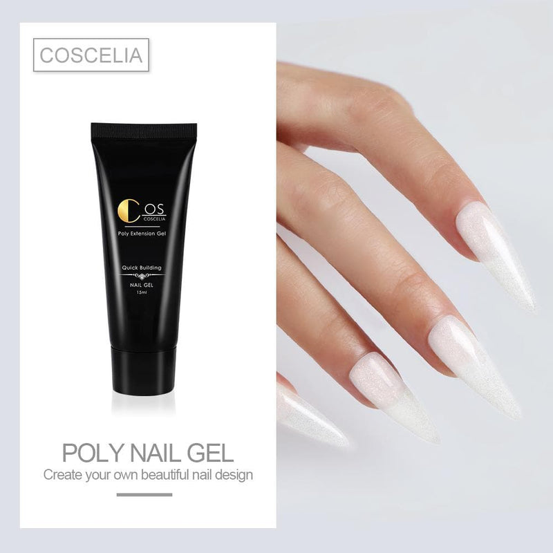 4/6/7/9pc Temperature Color Changing Poly Gel Set