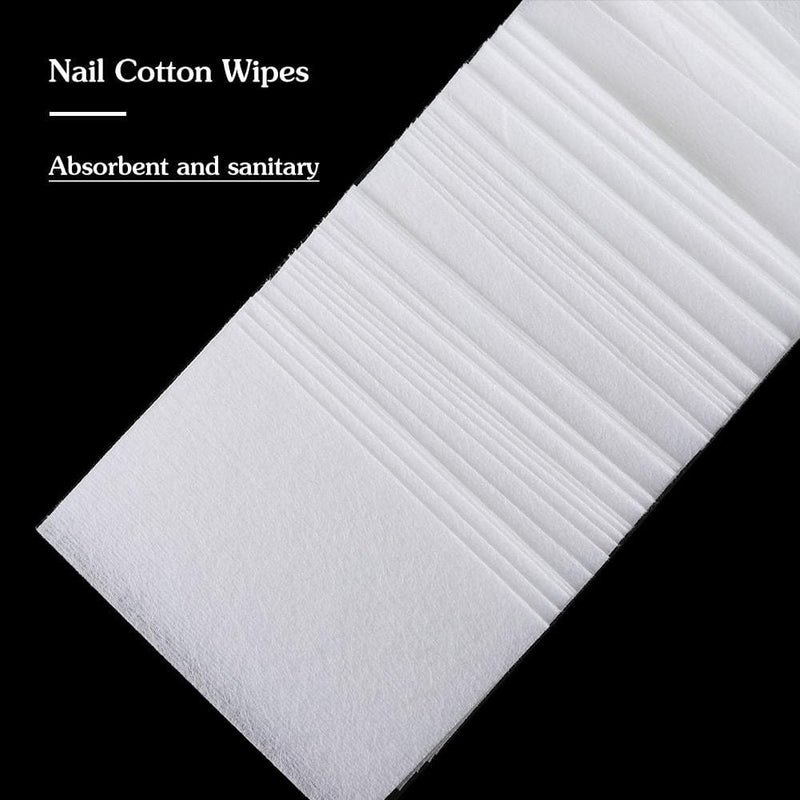 900pc Nail Polish Cotton Cleaning Wrap