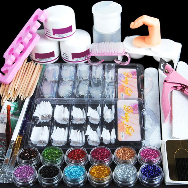 Professional Acrylic & Glitter Powder Kit