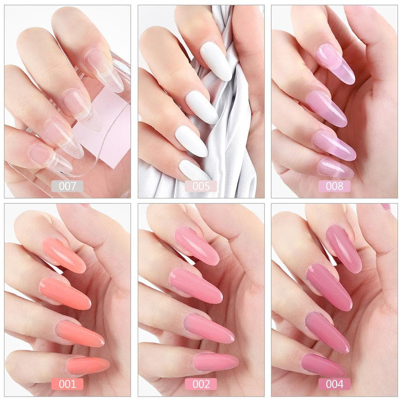 6pc Poly Gel Set