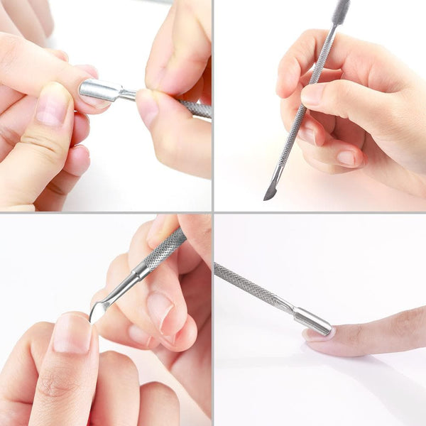 COSCELIA Cuticle Pusher Nail Clippers Cuticle Tools Nail Tools