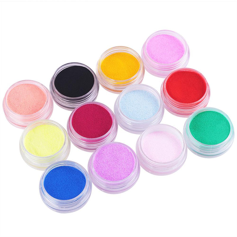 6/12/18Pc Acrylic Dust Powder Set