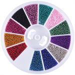 Coscelia Nail Art Rhinestones Wheel Nail Art Design Nail Decoration