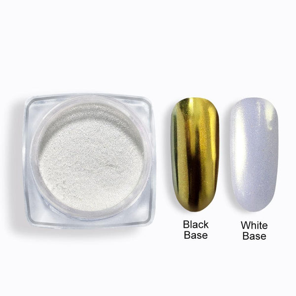 COSCELIA Nail Glitter Shell Powder Mirror Powders Nail art DIY