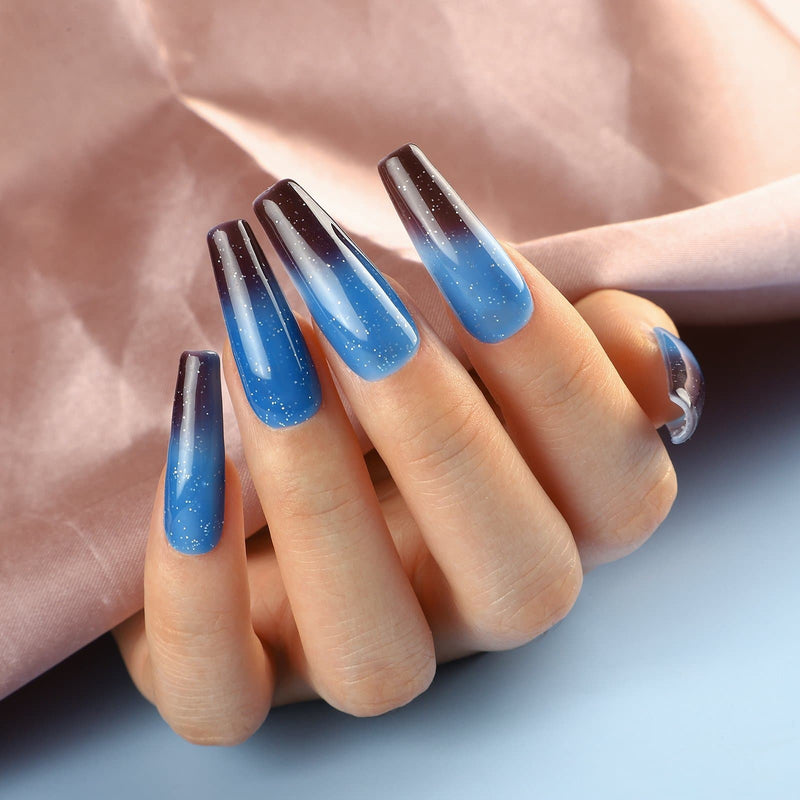 10pc temperature changing gel polish set 7ml