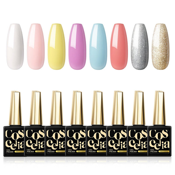 8pc gel polish set 10ml