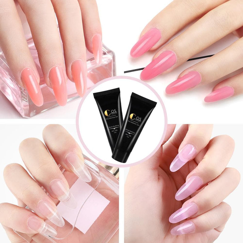 10pc Poly Gel Set