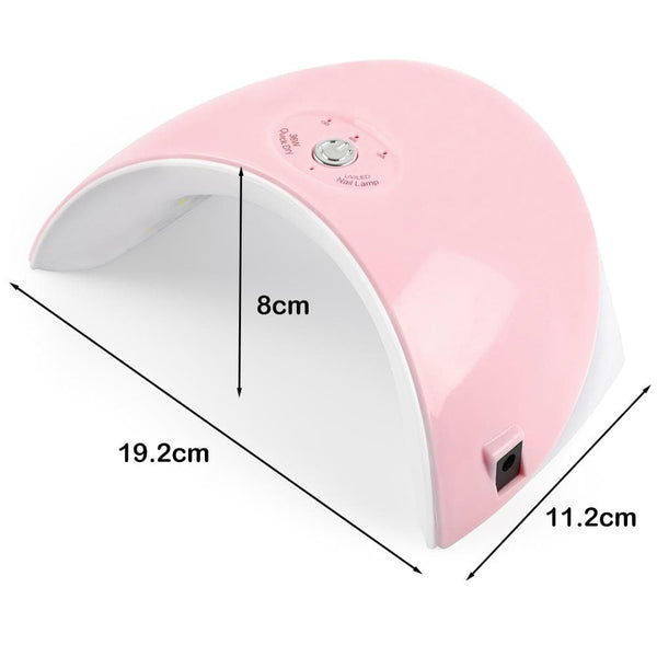 COSCELIA 36W LED UV Nail Lamp USB Quick Dryer Lamp