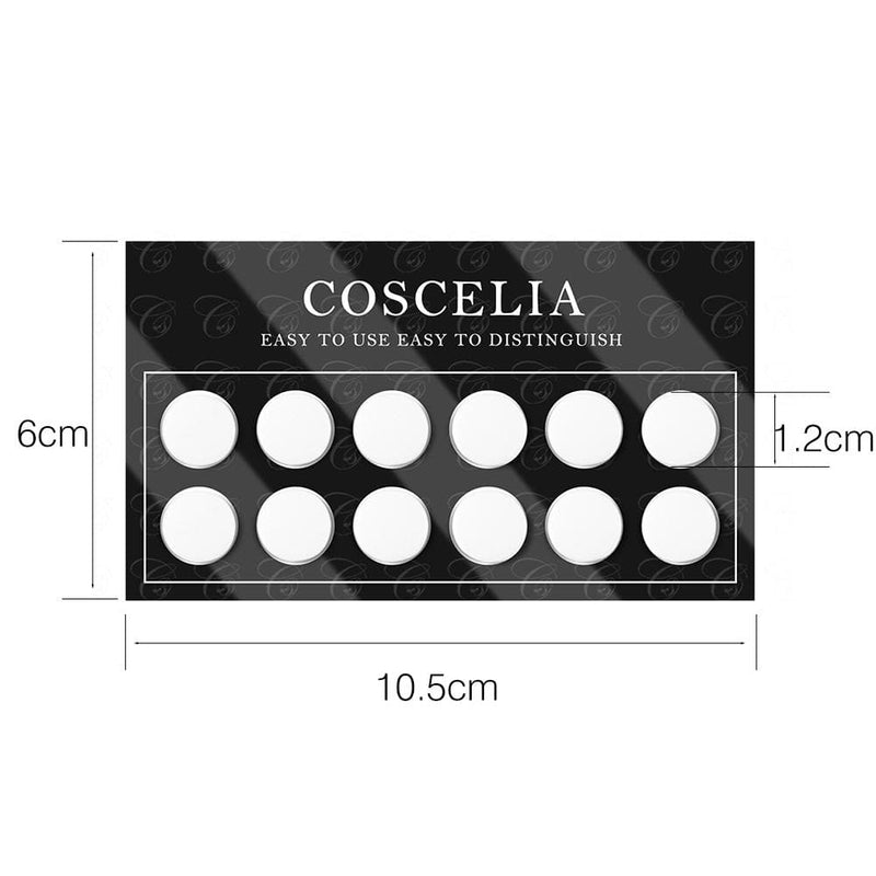 3pc Silicone Color Display Chart