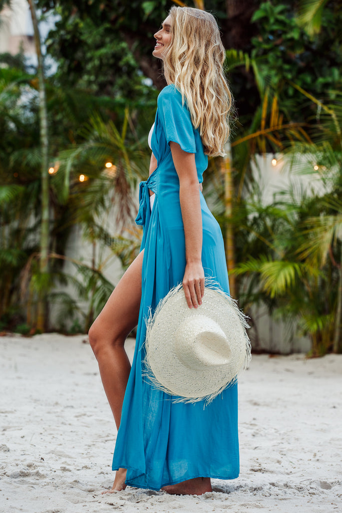 Gaetana Maxi Tie Cover Up