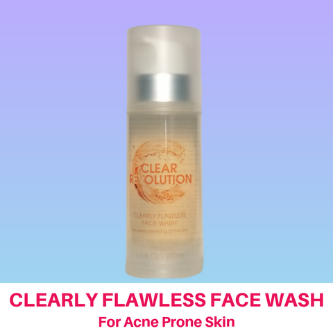 Clearly Flawless Face Wash 2 Month Bottle
