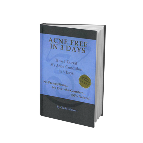 Acne Free in 3 Days Book Signed by Chris Gibson