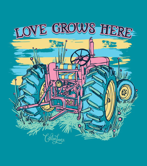 Love Grows Here - Short Sleeve
