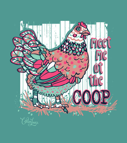 Meet Me At The Coop - Short Sleeve
