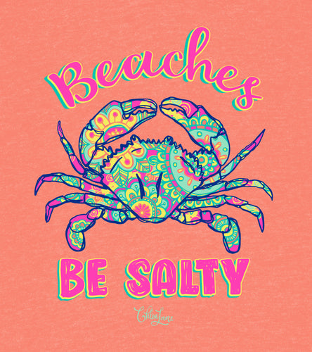 Salty Beaches - Short Sleeve