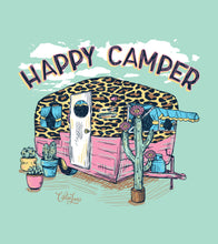 Happy Camper- Long Sleeve- Celadon