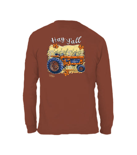 Hay Yall- Long Sleeve- Sedona