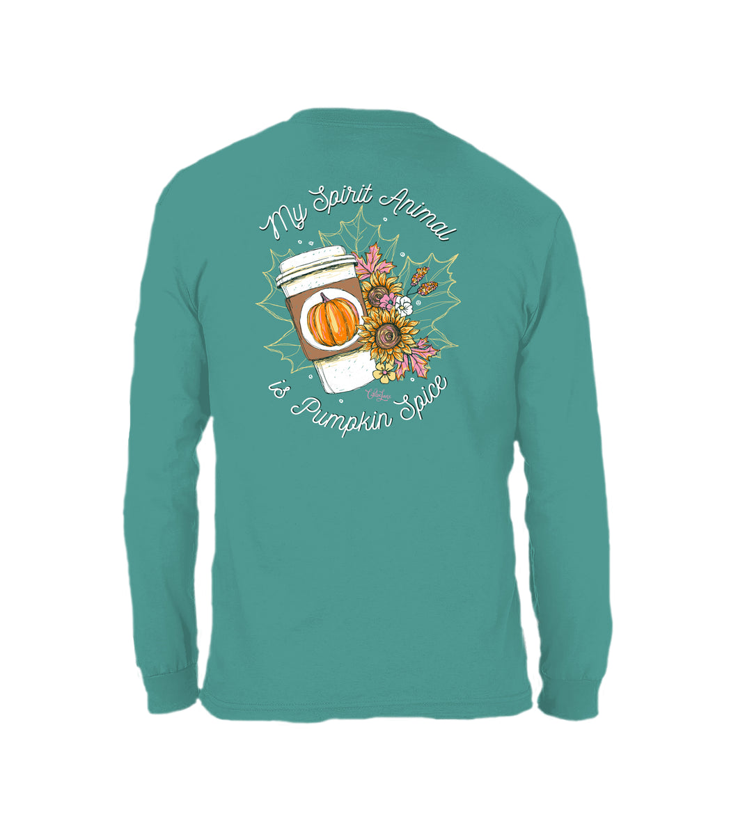 Spirit Animal- Long Sleeve- Jade