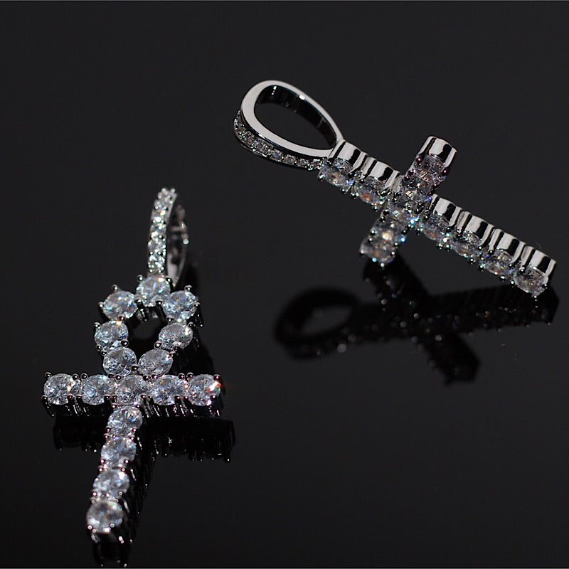 Iced Ankh Cross Bundle