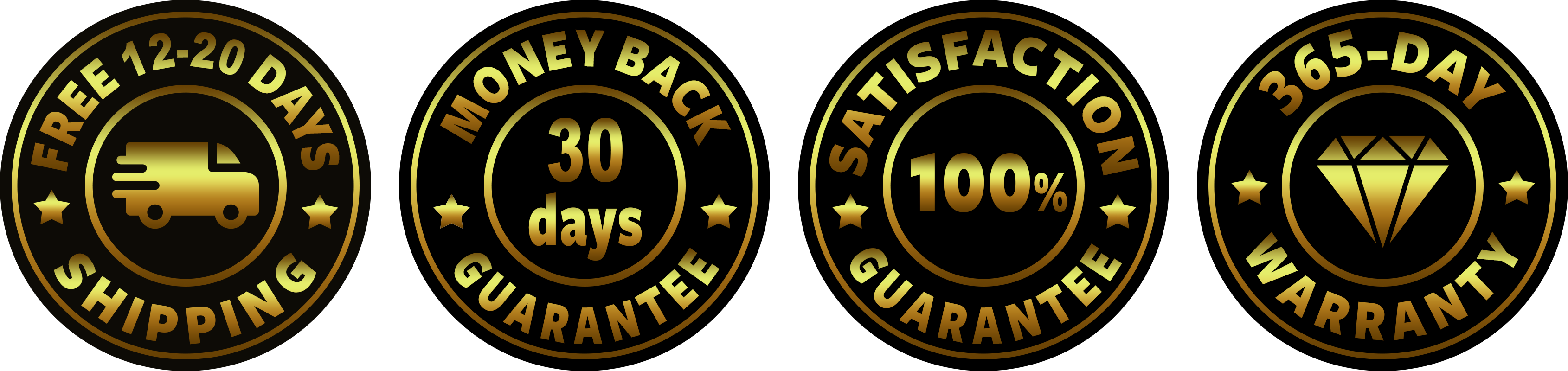 custom guarantee badge