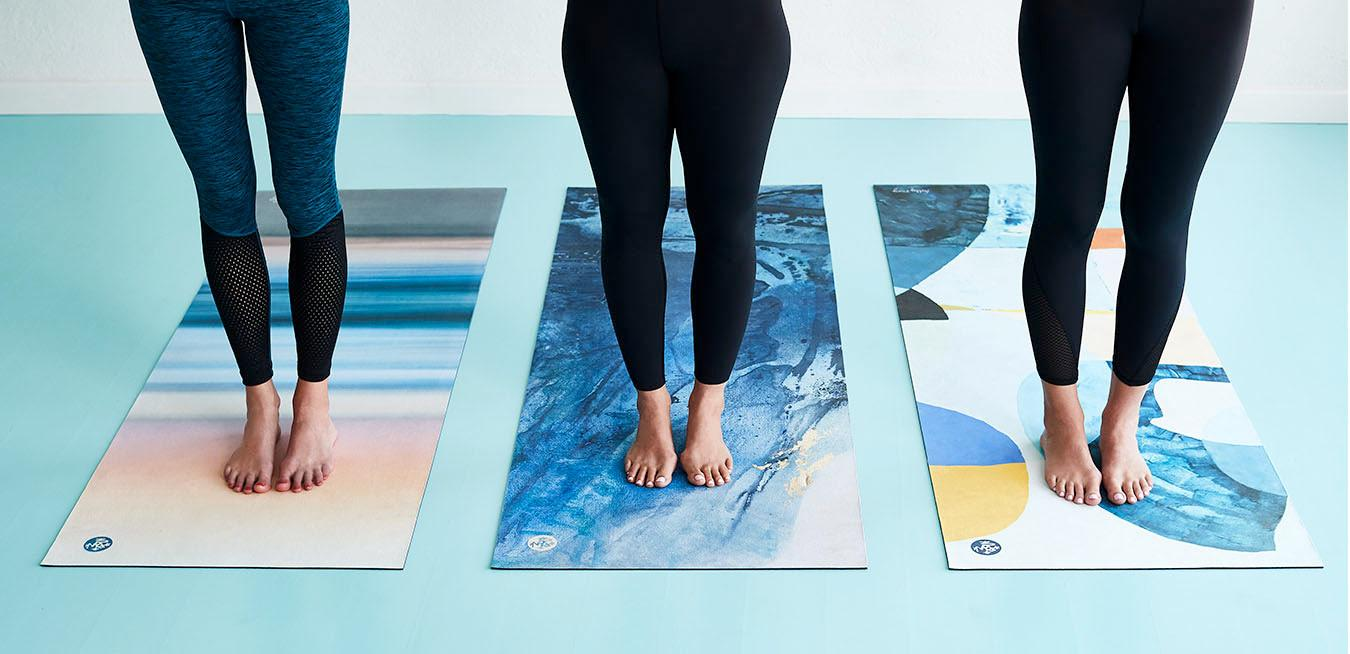 Meet the Artists: The ladies (and gent) behind our eQua Hot Yoga Mat Collection