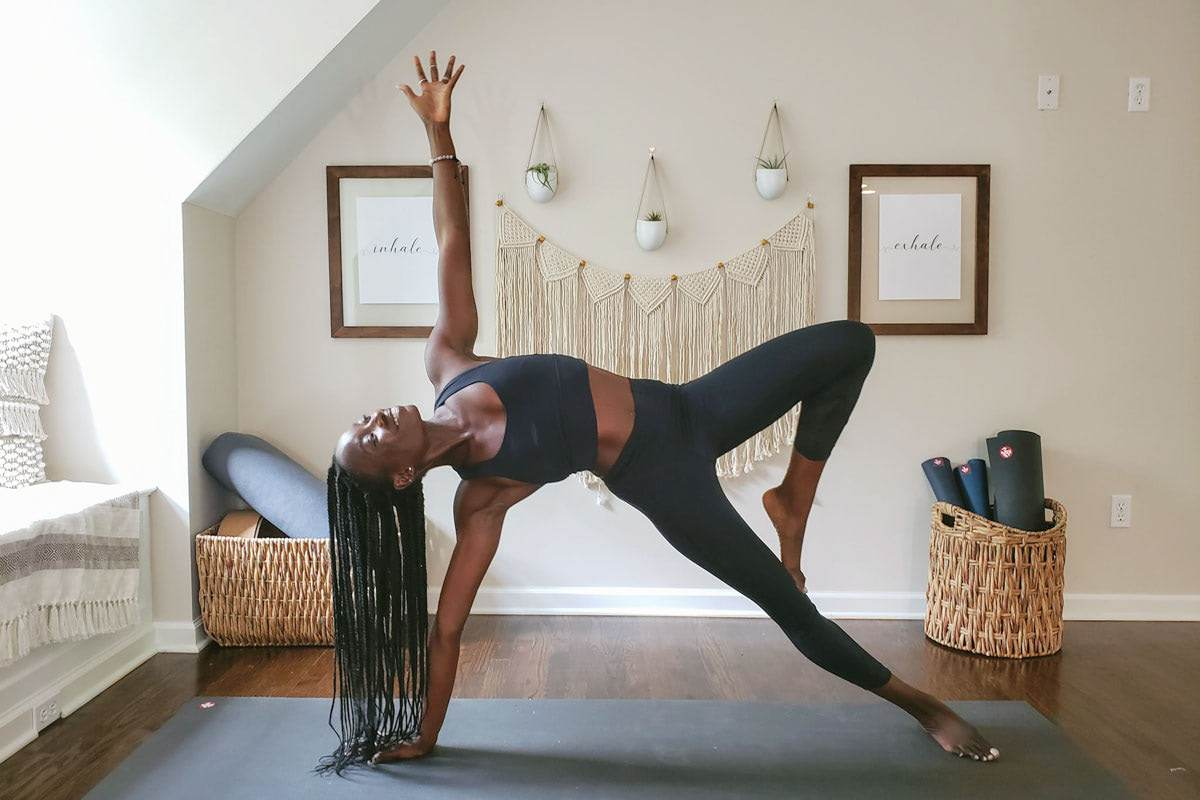 How to Create an At Home Yoga Space