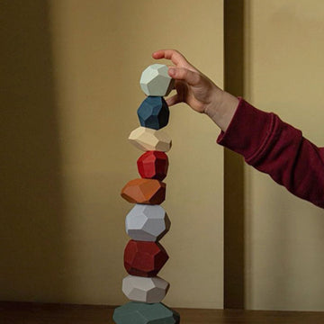 Educational Stacking Stones