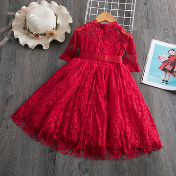 Lace + Tulle Christmas Dress