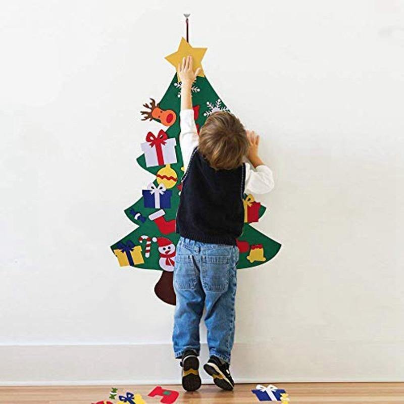 DIY Felt Christmas Tree for Kids - Baby Couture Co.